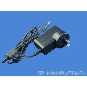 供应24V0.5A插墙式电源适配器  澳规12W 国际标准SAA认证