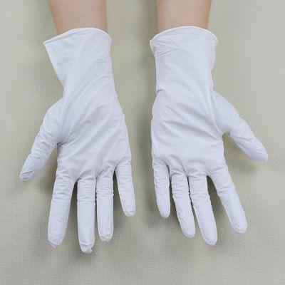苏州一次性手套厂家批发丁晴手套 工业防油手套