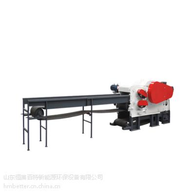 恒美百***应鼓式木片机,时产5-8吨木片机价格