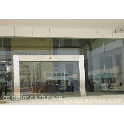荔城安装电动玻璃门,中新防夹安全电眼18027235186