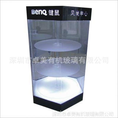 广告灯箱 旋转灯箱 3mm亚克力 卓美有机玻璃制品 LED灯箱