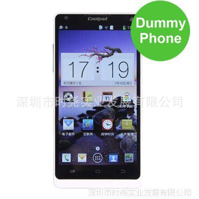 酷派 8736手机模型 原厂原装模型机 1:1尺寸手感 移动4G版 模具