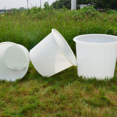 武汉诺顺M塑料圆桶 敞口腌制桶 广口食品桶