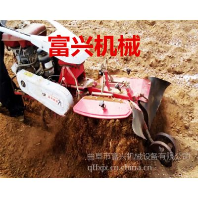 邓州市多功能旋耕起垄机 富兴黄烟种植开沟培土机 多用途旋耕机厂家直销