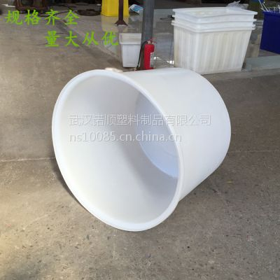 鄂州肉制品水产品食品加工桶 PE塑料圆桶 食品级牛筋塑胶桶