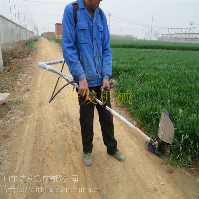 背负式割稻机 浩发稻麦收割机 山地小型收割机