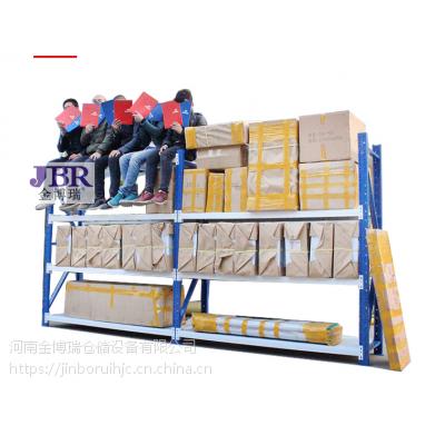 中型仓储货架330一组厂家直销河南金博瑞货架厂位于郑州西环机建市场东43号