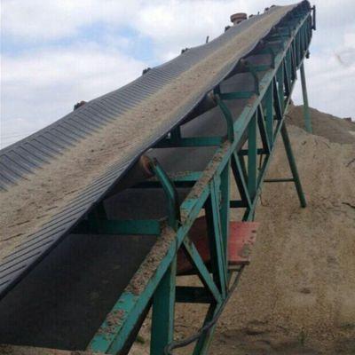 玉米带式提升输送机 兴亚带式输送机厂家生产制作