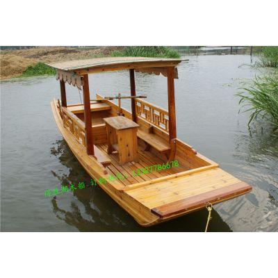 浙江衢州低价直销观光木船 /仿古木船/旅游观光船/客船