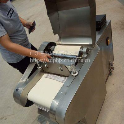 普航厨房用切菜机 芥菜切丝机价格 面包香菇切丁机厂家