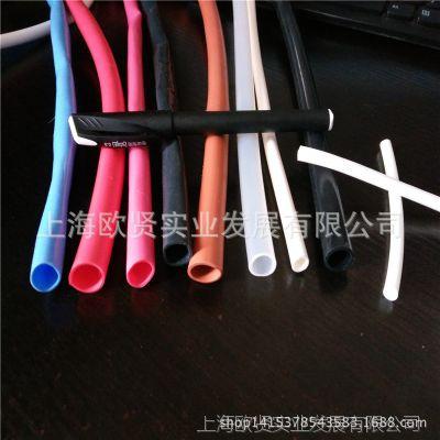 厂家直销耐高温硅橡胶管 红色硅胶套管 硅胶热缩管 橡胶胶热缩管