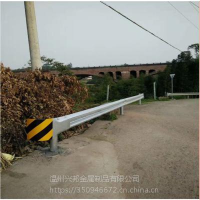 供应贵阳高速镀锌波形护栏 乡村道路安全防撞栏 双波型护栏板