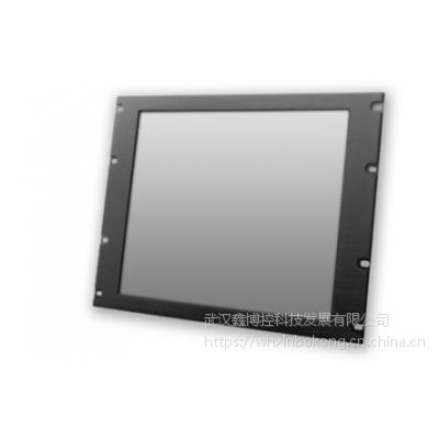 原厂鑫博控标准19寸机柜上架工业显示器控制柜显示器铝面板钢面板可选价格优惠