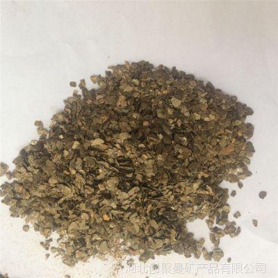 蛭石片厂家蛭石原矿规格齐全膨胀率高杂质少-河北创聚曼矿产