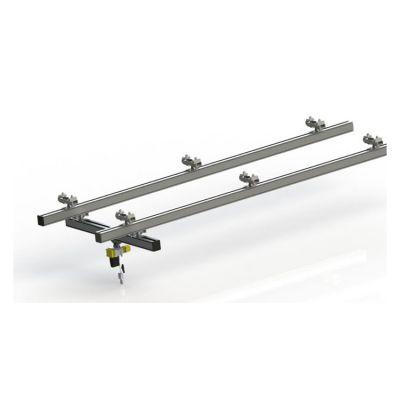 铝轨组合起重机/国内铝合金轨道/小车/配件