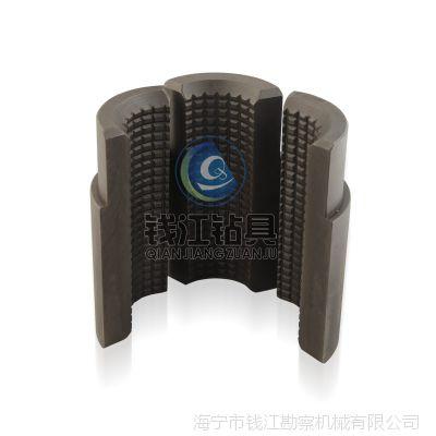 钱江机械 厂家直供 钻杆夹持器卡盘卡瓦 ZDY3200S全液压钻机配件