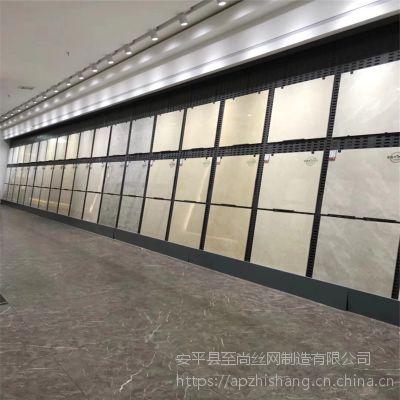 直板架挂砖 挂瓷砖样品展示柜尺寸 哈尔滨瓷砖店挂瓷砖背板【至尚】