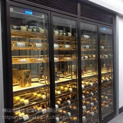 不锈钢酒柜案例,不锈钢酒柜平面设计,简约现代酒柜简介