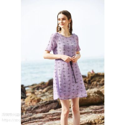 凯撒贝蕾19夏真丝连衣裙女装,另有丝辉映月百诗赢摩安珂丽迪莎