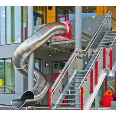 北京同兴伟业直销定制不锈钢滑梯,户外拓展攀爬,儿童乐园组合滑梯,无动力游乐设施