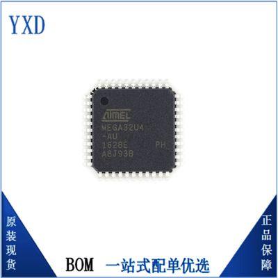 全新原装ATMEGA32U4-MU Atmel/爱特梅尔封装QFN44 AVR 8位微控制器