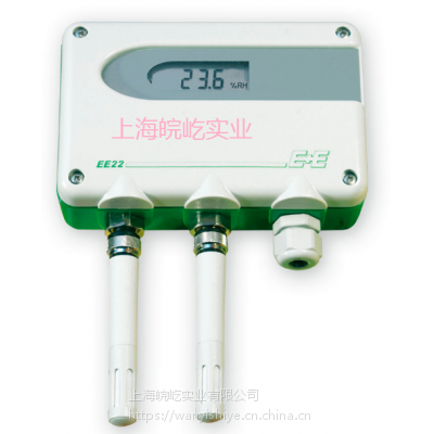 E+E相对湿度变送器 / 管道式 / 可更换传感器 / 测温度 EE220