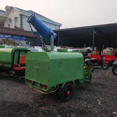 新款电动三轮雾炮洒水车 清洗运水功能齐全 价格合理