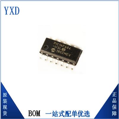 Microchip/微芯 PIC16F684-I/SL SOP16原装现货单片机微控制器