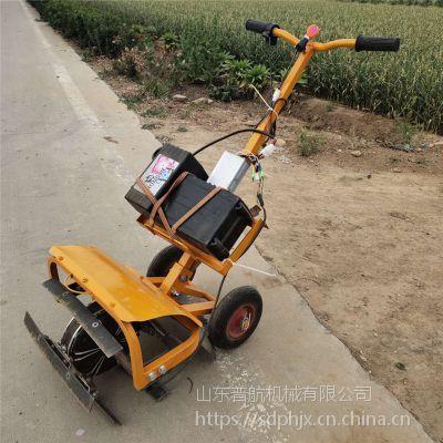 普航手推式汽油打草机 电动锄草机厂家 背负式旋耕除草机