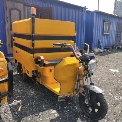 供应道路清洗 电动三轮高压清洗车XC12-HJ 工作效率高 简单好操作