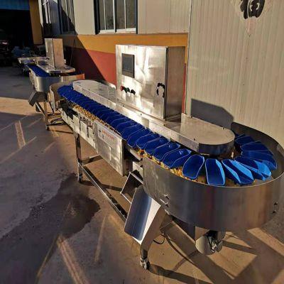 高效生蚝重量分级机 生蚝重量分选设备