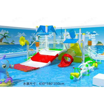 室内儿童水上乐园 儿童水上秋千 水炮 小型戏水小品设施 水上乐园设备厂家 北京同兴伟业直销定制
