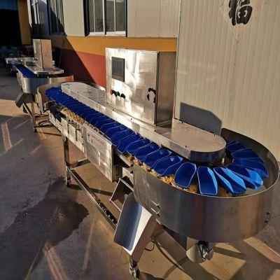 海蛎子大小分选机 海蛎子重量分级机 海蛎子称重分选机