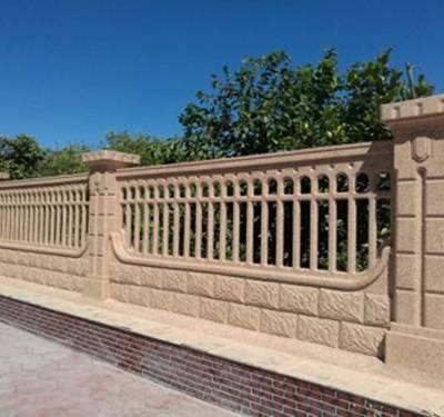 水泥围栏围墙厂家-宏泰艺术制品(在线咨询)-河南水泥围栏围墙
