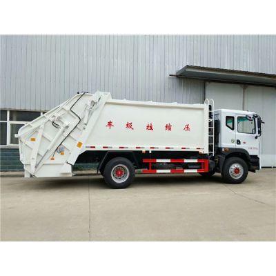东风8吨环卫垃圾车图片,电动保洁垃圾车