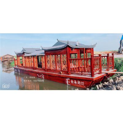 得胜湖电动船出售多少钱 画舫木船出售哪里有