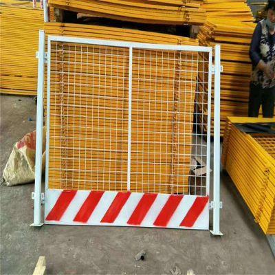 地铁黄黑临边护栏 施工基坑防护栏 四川隔离栏