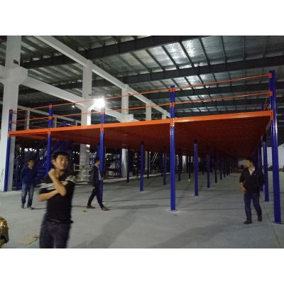 镇江钢平台厂家 钢平台定做 方案设计——国德货架