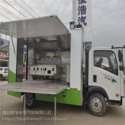 流动餐车改装大型移动厨房车有什么用途